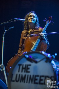 Lumineers cellist Neyla Pekarek (photo: Jim Bennett)
