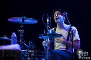 Drummer Jeremiah Fraites (photo: Jim Bennett)