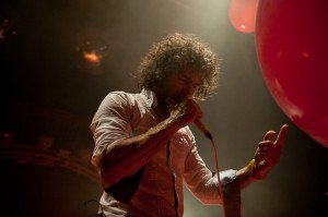 Wayne Coyne of the Flaming Lips (photo: Jim Bennett)