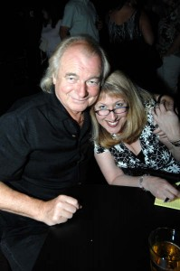 Alan White of Yes and Carla DeSantis of rockrgrl.com
