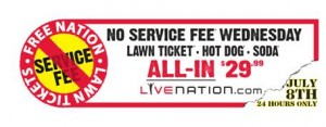 Live Nation launches and all-in-one concert package