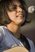 Rising star Vicci Martinez performs at Bite of Seattle