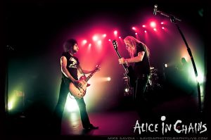 William DuVall (left) and Jerry Cantrell of Alice in Chains (Mike Savoia/ Savoia Photography Live0
