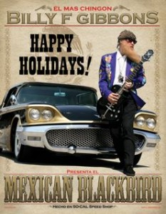 Billy Gibbons' holiday card