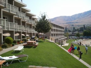 Campbell's Resort in Lake Chelan (photo: Gene Stout)