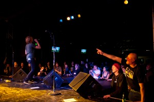 Mudhoney fans at Showbox SoDo (photo: Jim Bennett)