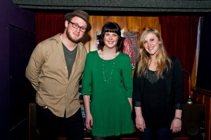 (L-R) Zach Fleury, Alessandra Rose, Kaylee Cole (photo: Jason Tang)