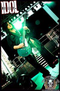 Guitarist Steve Stevens (photo: Mike Savoia)
