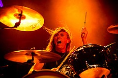 Drummer for Pentagram (photo: Christopher Nelson)
