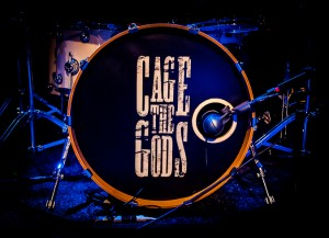 Cage the Gods drum kit (photo: John Brott)
