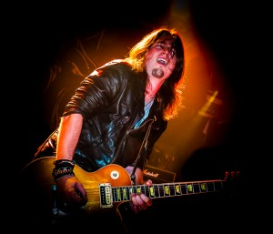 Guitarist Jam of Cage the Gods