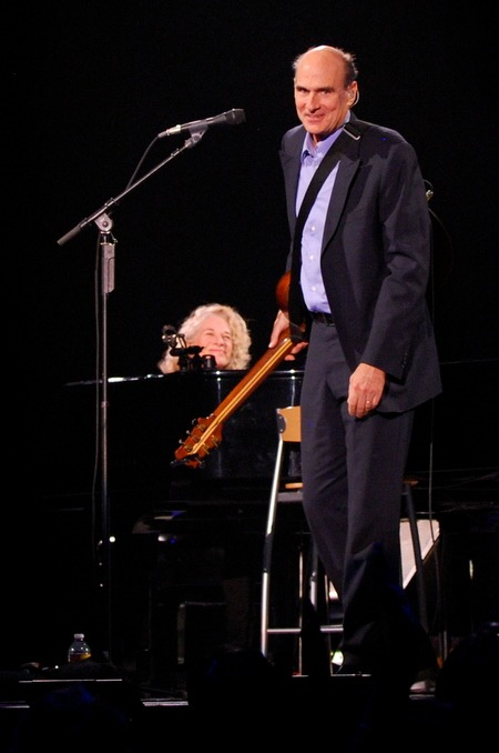 Carole King and James Taylor at KeyArena (photo: Kam Martin)