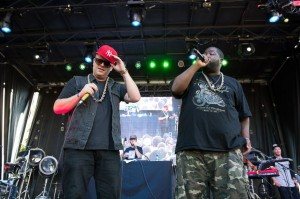 Killer Mike + El-P on Saturday (photo: Jim Bennett)