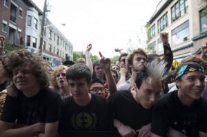 Crowd at Friday's CHBP (photo: Jim Bennett)
