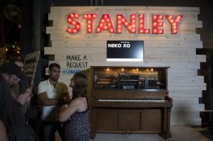 Stanley interactive piano (photo: Jim Bennett)