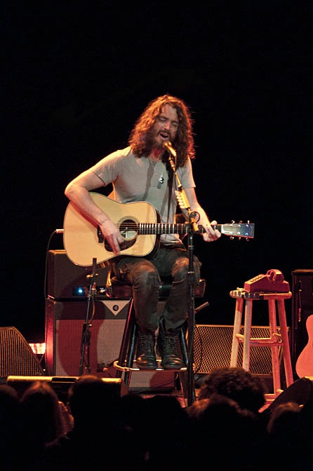 Chris Cornell at the Moore Theatre (photo: Suzi Pratt)