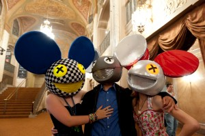 Deadmau5 fans (photo: Jim Bennett)
