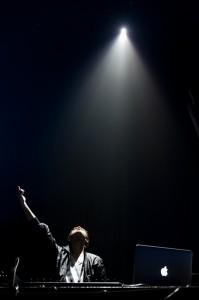 Zedd, one of the opening DJs (photo: Jim Bennett)