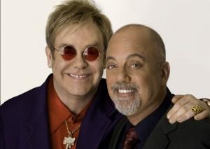 Elton John and Billy Joel (photo: Greg Gorman)
