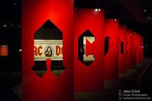 AC/DC exhibit (photo: Alex Crick)