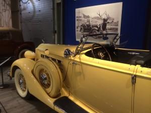 1936 Packard V-12 dual-cowl convertible (photo: Gene Stout)