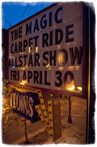 Marquee at the Hard Rock Cafe (photo: Mike Savoia)