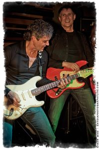 L-R: Roger Fisher and Steve Fossen (photo: Mike Savoia)