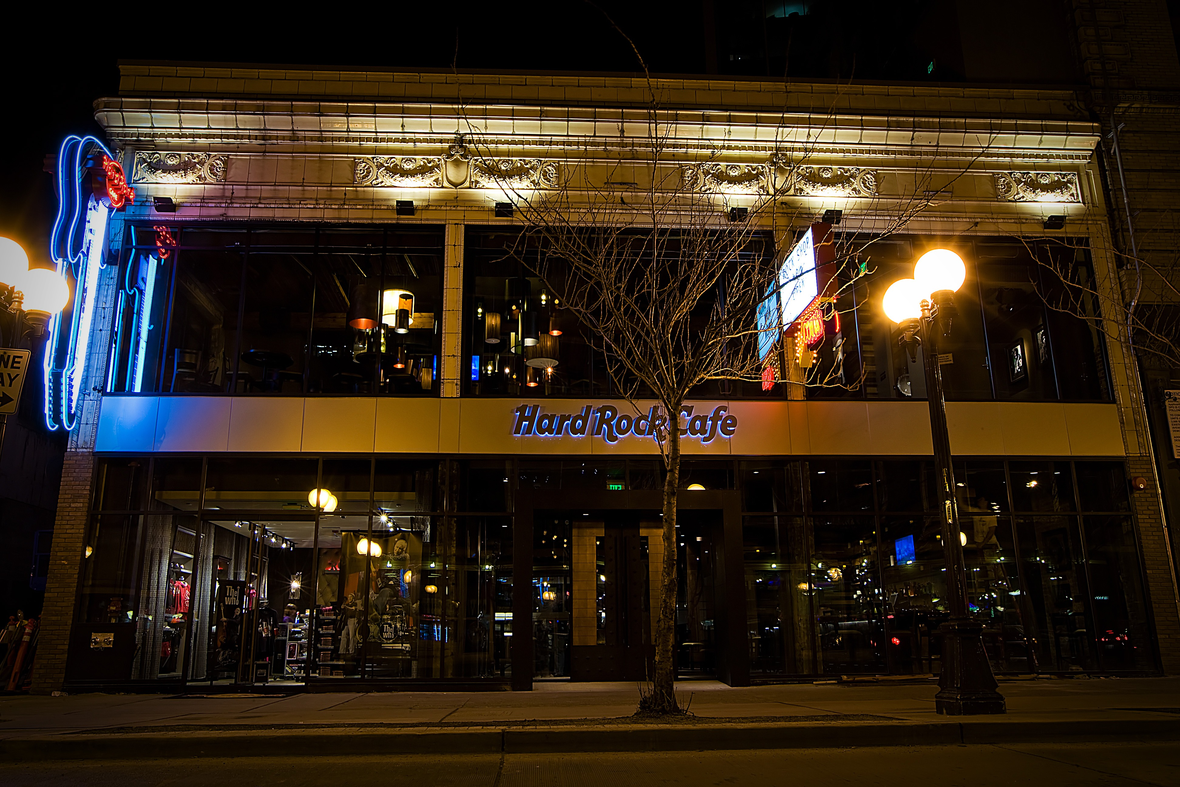 Hard Rock Cafe Seattle Grunge