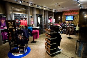 Hard Rock Cafe Seattle gift shop (photo: Mat Hayward)