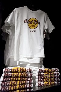 The Hard Rock Cafe's iconic T-shirt (photo: Alex Crick)