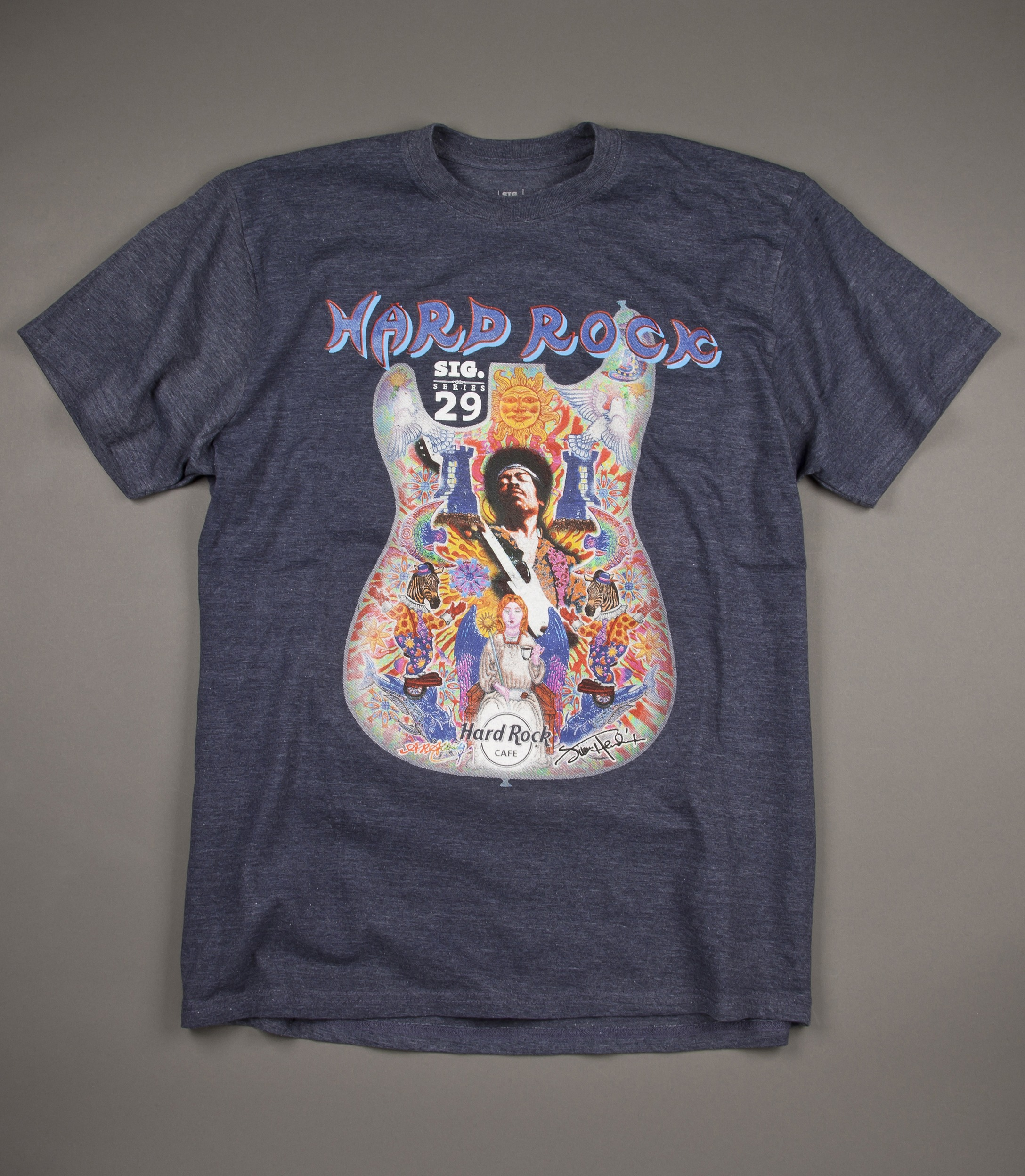 Hard Rock Cafe T Shirt Jimi Hendrix
