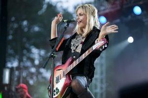 Courtney Love of Hole (photo: Alex Crick)