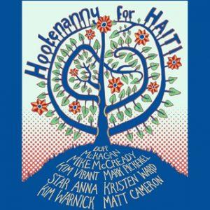 Hootenanny for Haiti poster