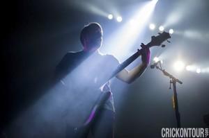 Ben McKee of Imagine Dragons (photo: Alex Crick)