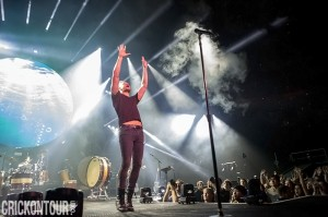 Dan Reynolds of Imagine Dragons (photo: Alex Crick)