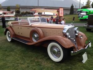 1933 Chrysler LeBaron-bodied phaeton (photo: Gene Stout)