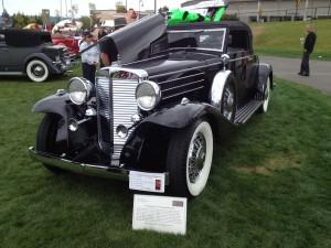1933 Marmon V-16 convertible coupe (photo: Gene Stout)