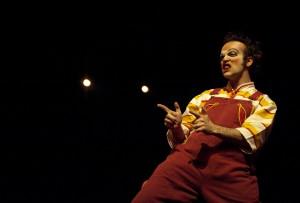 Clown Jimmy Slonina (photo: Jim Bennett)