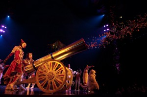 Confetti cannon (photo: Jim Bennett)
