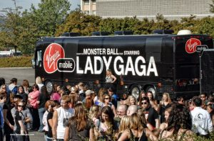 Lady Gaga bus