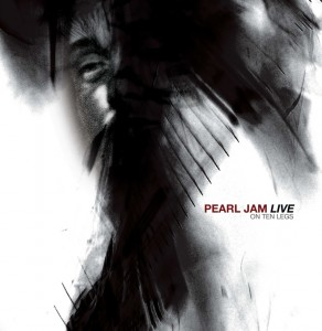 Pearl Jam's Live on 10 Legs CD cover