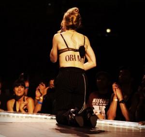 Madonna on stage (photo: Madonna.com)