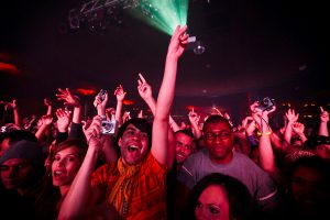 Crowd at M.I.A. concert (photo: Christopher Nelson)