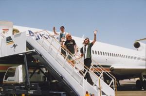 Nirvana in Australia, 1992 (photo: Shelli Hyrkas)