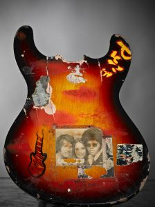 Kurt Cobain's smashed guitar (image: www.empsfm.org)
