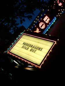 Marquee at Showbox at the Market (photo: Gene Stout)