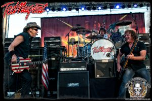 Ted Nugent band (photo: Mike Savoia)