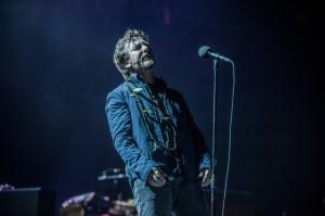 Eddie Vedder of Pearl Jam at KeyArena (photo: Jim Bennett)