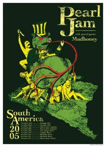 Pearl Jam poster (Ames Brothers)