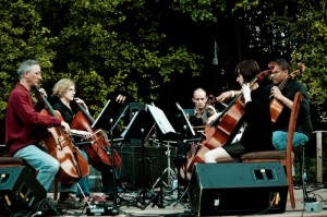 Portland Cello Project (photo: Hiliary Harris)